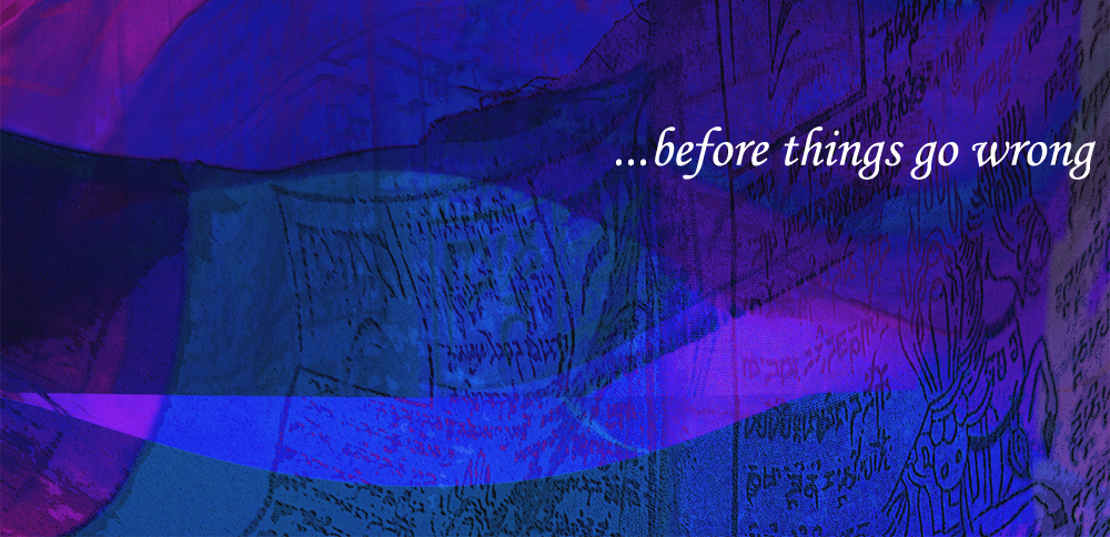 before things go wrong layers